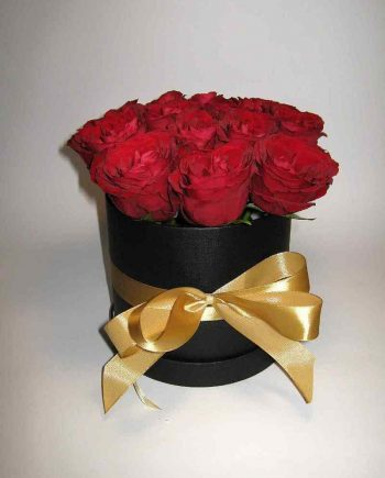 Box sa crvenim ružama