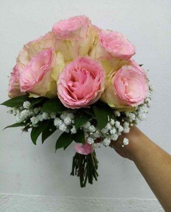 Bidermajer roze ruže