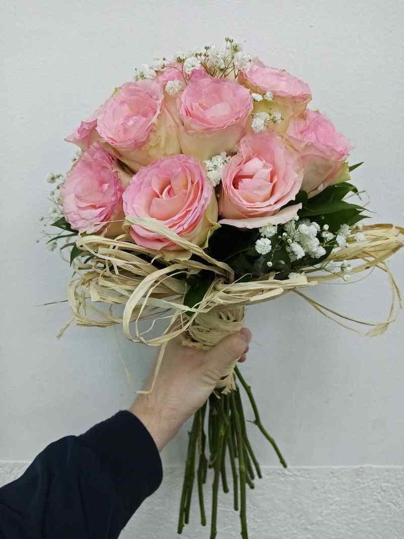 Buket roze ruže