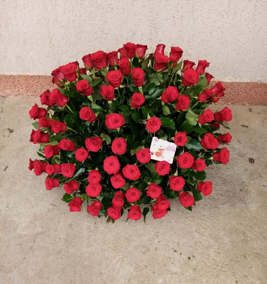 Korpa 101 ruža