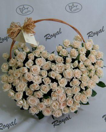 Korpa sa 101 ružom