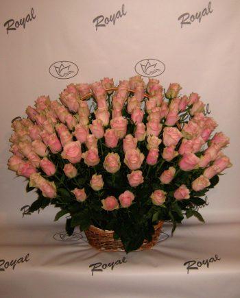 Korpa sa 101 roze ružom 423
