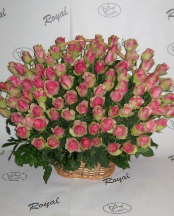 Korpa sa 101 ružom 441