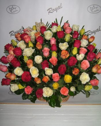 Korpa 101 ruža 452