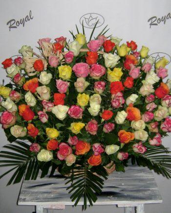 Korpa 101 ruža 474