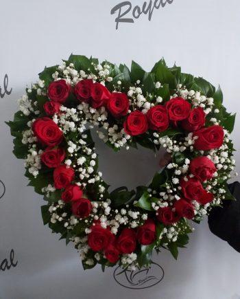 Venčić sa ružama 494