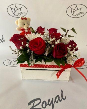 Korpa sa ružom i medom 546