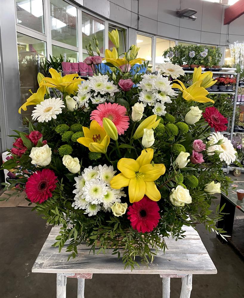Korpa cvetni mix 558