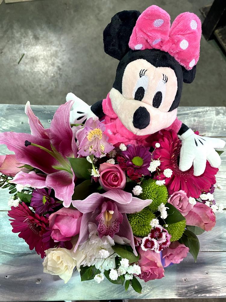 Box of flowers sa igračkom 560
