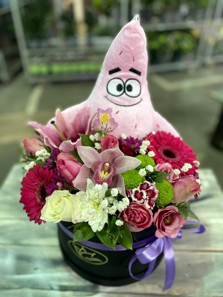 Box of flowers sa igračkom 561
