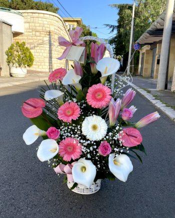 Korpa cvetni mix XXL 564