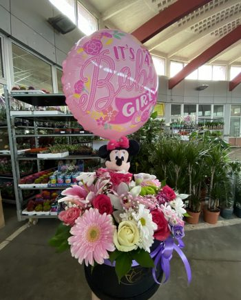 Box of flowers sa balonom 588
